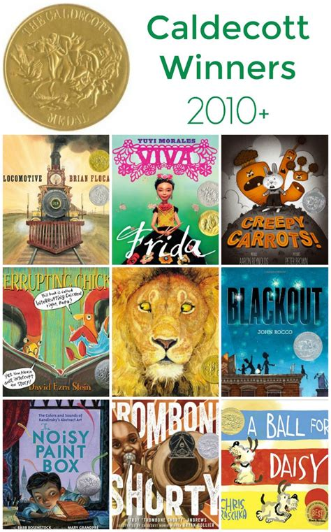 caldecott picture book winners caldecott winners 2010 to now the evolution