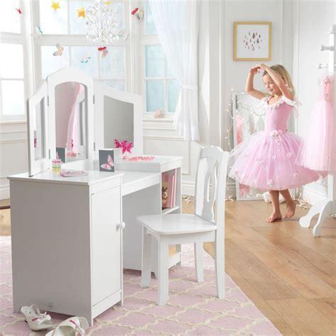 kid craft vanity kidkraft deluxe vanity table and chair ebay