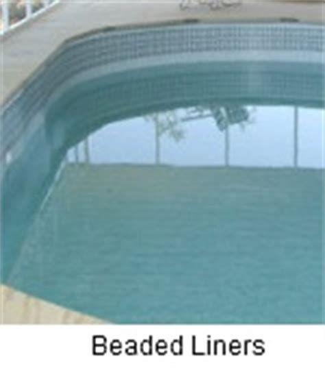 beaded pool liner installation above ground pool liner installation