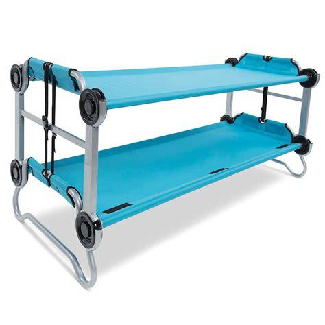 fold away bunk bed the foldaway childrens bunk beds hammacher schlemmer