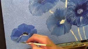 acrylic painting how to step by step flower painting mixed media flower heads 7 acrylic