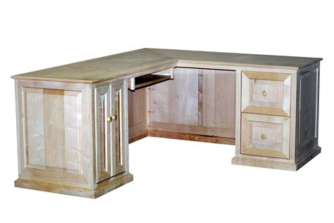 maple l shaped desk handmade maple l shaped desk by durham bookcases
