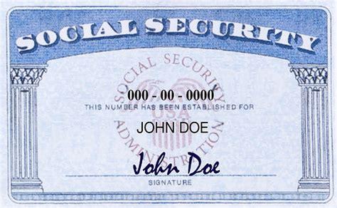 how to make social security card social security card mu international center