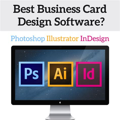 best program to make business cards what s the best software for business card design