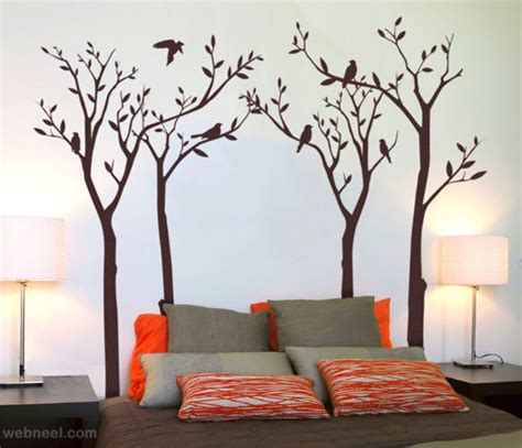 painting bedroom walls 30 beautiful wall ideas and diy wall paintings for