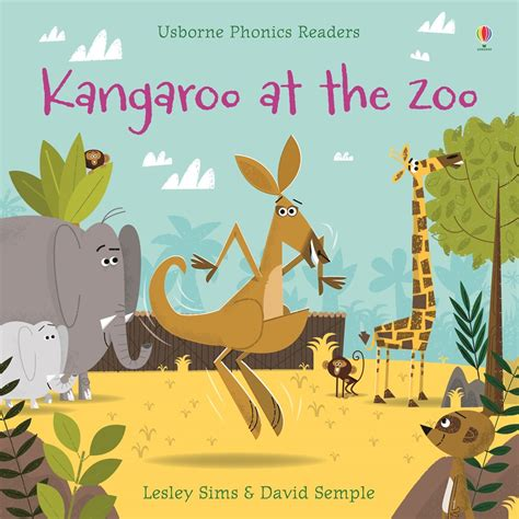 zoo picture book kangaroo at the zoo at usborne children s books