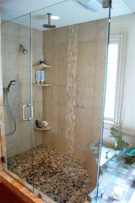 bathroom shower wall tile ideas 27amazing bathroom pebble floor tiles ideas and pictures