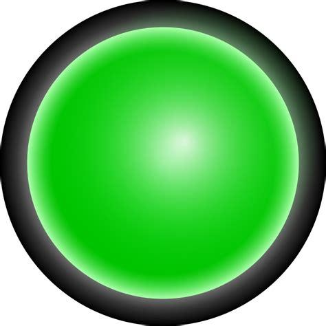 green led light clipart led green