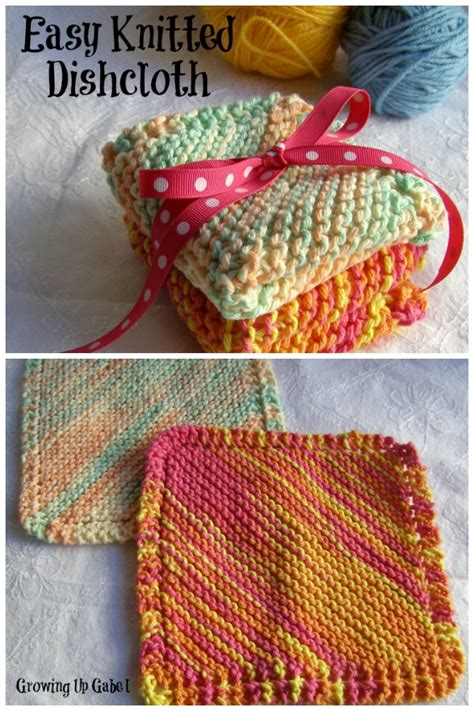 easy knitting dishcloth patterns for beginners easy knit dishcloth dishcloth knitting patterns classic