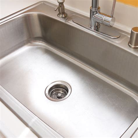 kitchen sink cleaning how to clean your stainless steel sink popsugar smart living