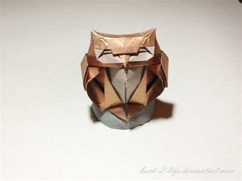 owl origami owl origami by back 2 on deviantart