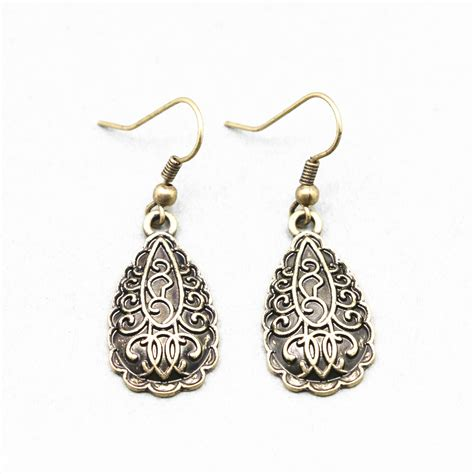 vintage for jewelry 2015 new antique bronze drop earring for sell