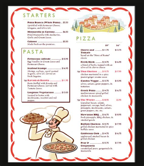 how to make menu card for restaurant sle menu card template 29 in psd pdf word