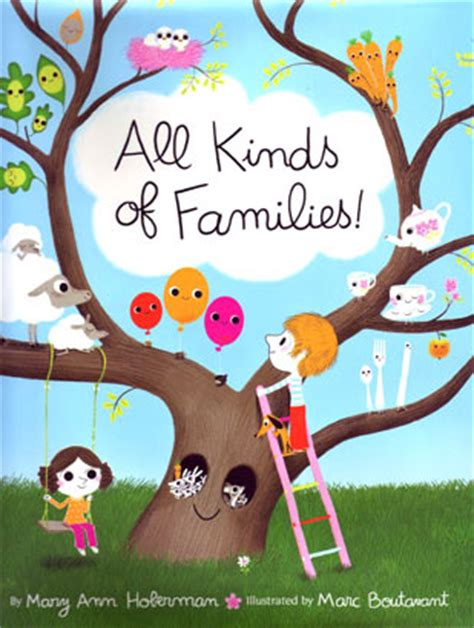 family picture books all kinds of families by hoberman