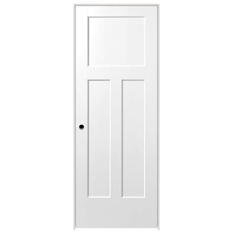 24 inch exterior door home depot masonite 24 in x 80 in winslow 4 panel primed white