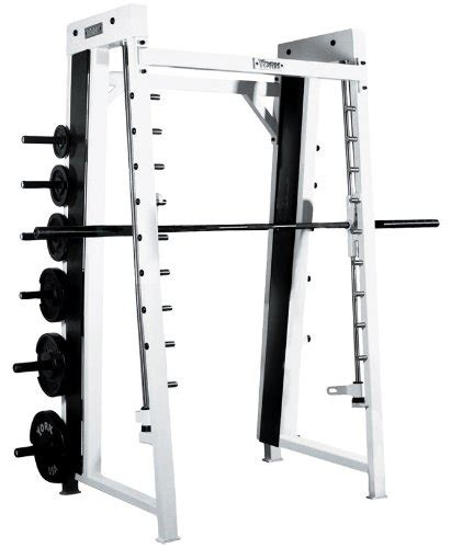 smith rubber st solid series 7 smith machine with 255 lb rubber