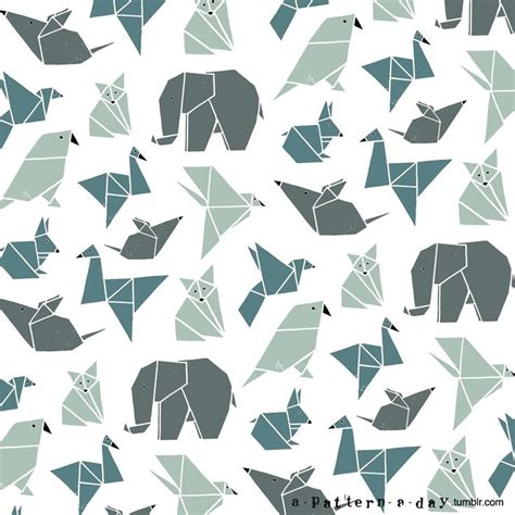 pattern origami 25 best ideas about pattern illustration on