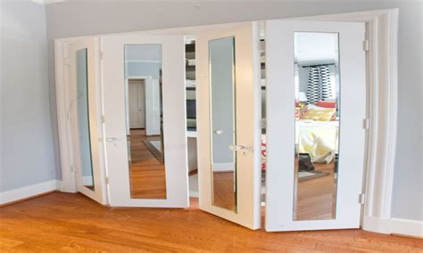 home depot closet door mirrors with metal frames mirrored bifold closet doors
