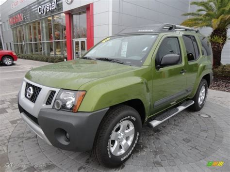 xterra paint colors 2012 metallic green nissan xterra s 60696572 gtcarlot