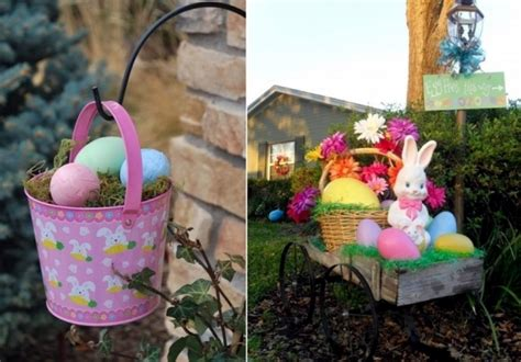 outdoor easter decorations 15 colorful ideas houz buzz