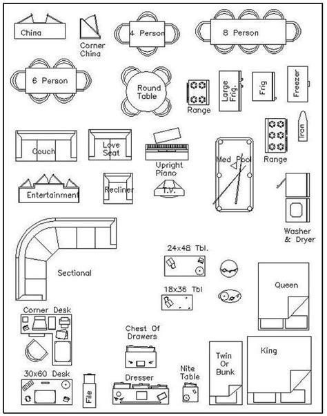 furniture templates for interior design free printable furniture templates furniture template