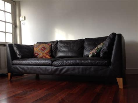 ikea stockholm sofa ikea stockholm three seat sofa leather for sale in
