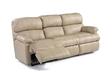 flexsteel leather sofas flexsteel living room leather reclining sofa 3066 62 woodley s furniture colorado