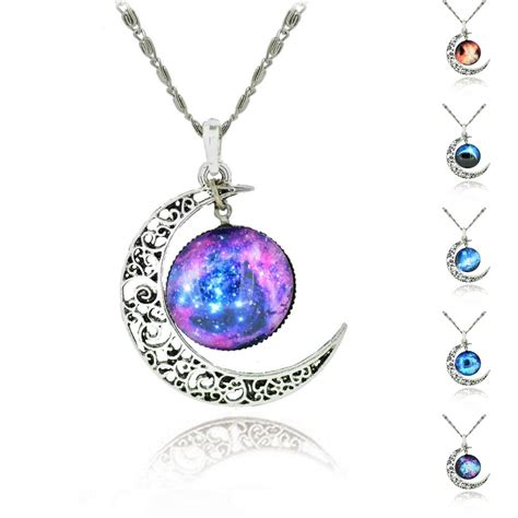 jewelry pendants brand sterling silver jewelry fashion moon statement