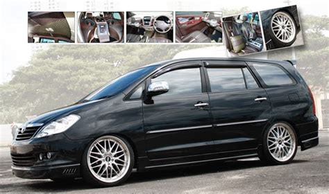 Modification Mobil Innova by Mega Pro Modifikasi Kijang Innova Modifikasi