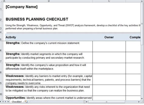 planning a for work project plan template project plan template excel