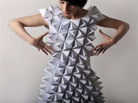 origami garments 20 eco wedding dress ideas