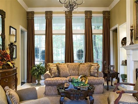 living room living room window treatment ideas for