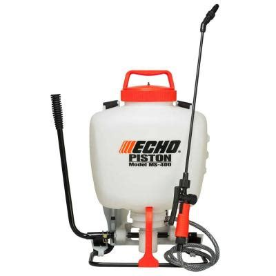 home depot paint sprayer wand echo 4 gal piston backpack sprayer ms 400 the home