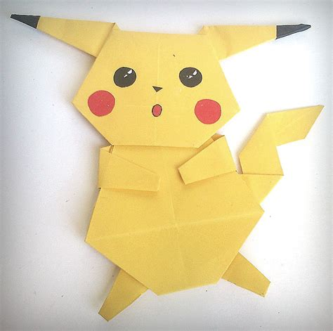 origami pickachu origami pikachu images images