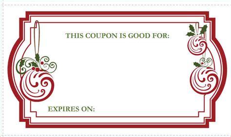7 christmas coupon template academic resume template