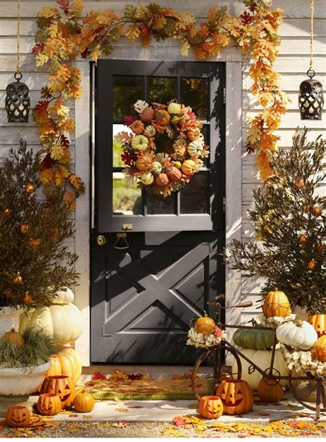 ideas for fall 67 and inviting fall front door d 233 cor ideas digsdigs
