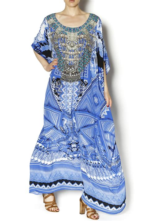 beaded kaftan dress camilla beaded kaftan dress from ta by deborah kent s