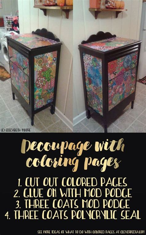 things to decoupage 25 best ideas about decoupage dresser on