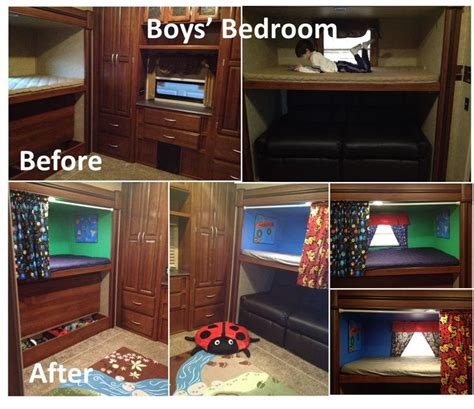 5th wheel cers with bunk beds 17 best images about ideas for my rv remodel on