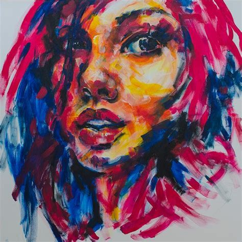 acrylic paint definition 25 best ideas about abstract portrait on