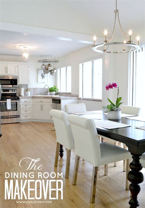 Easy Kitchen Remodel Ideas livelovediy our 1970 s house makeover part 10 the dining