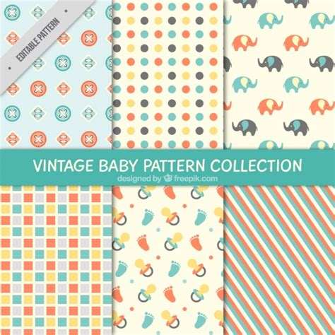 baby patterns free pretty and decorative baby patterns vector free