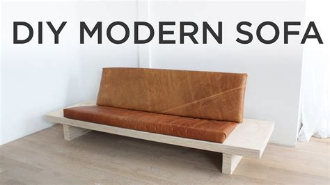 diy sofa bed diy modern sofa how to make a sofa out of plywood