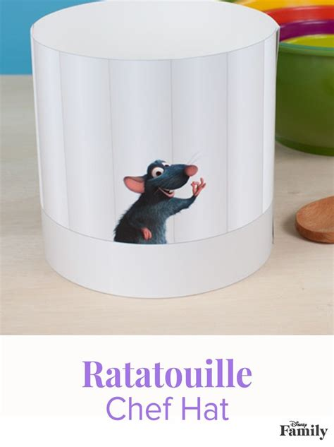 chef hat craft for 25 best ideas about ratatouille chef on