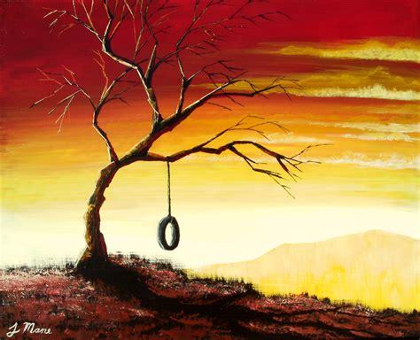 acrylic painting landscape items similar to simple bliss original acrylic landscape