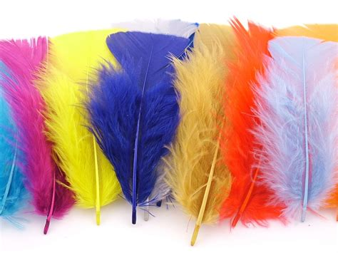 feathers for craft projects craft packs dyed turkey feathers arts crafts