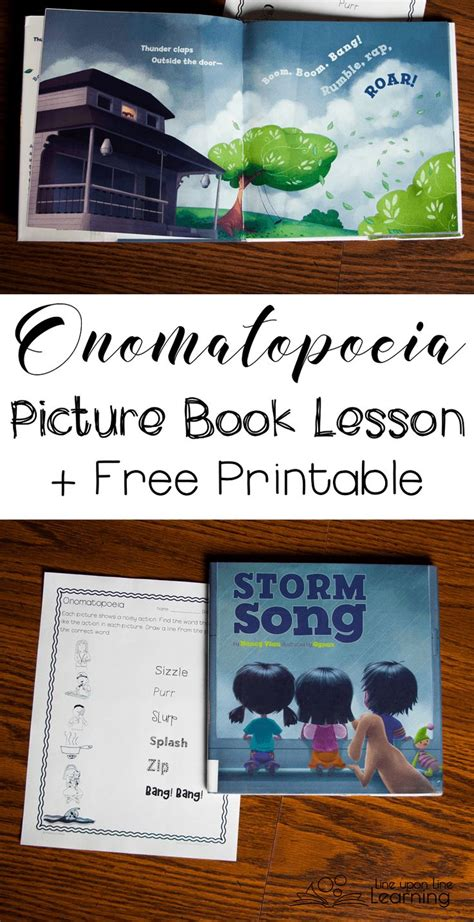onomatopoeia picture books onomatopoeia picture book lesson songs pictures and book