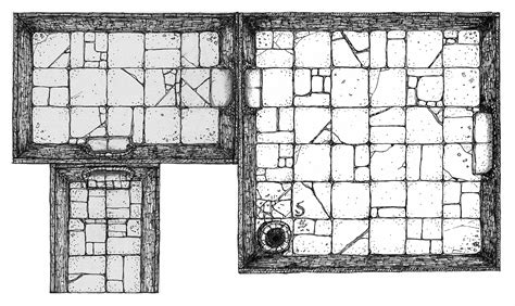 Colonial Farmhouse dungeon floorplan for dnd figs by billiambabble on deviantart