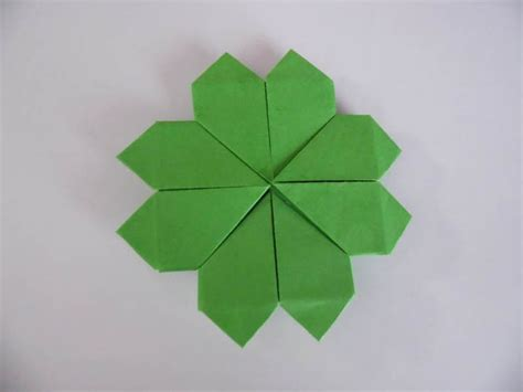 origami four leaf clover 106 best images about origami on