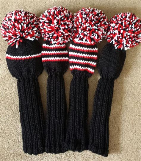 knit golf headcovers golf club covers knit